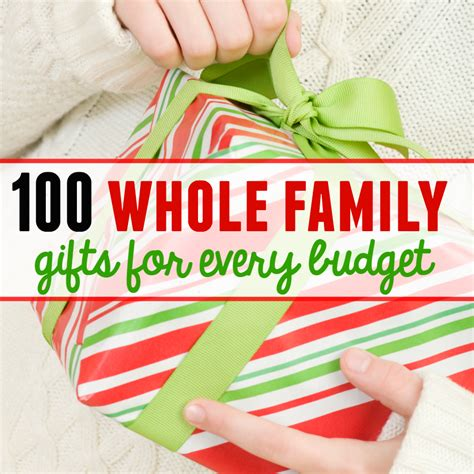 family gift ideas 100 family gift ideas with something for every budget the measured mom