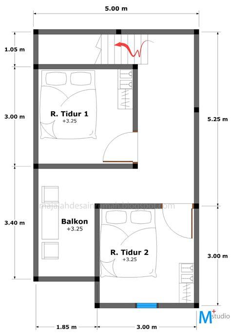 rumah minimalis  lantai tipe  absoluterevos blog