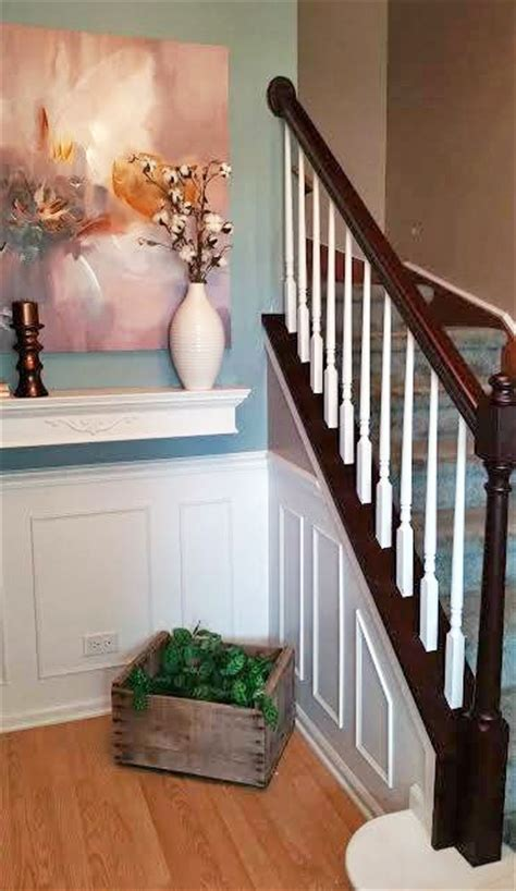 Mahogany Banister by Brown Mahogany Stair Railing General Finishes Design Center