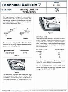 project 78 replacing your window regulator and motor With technical bulletin template word