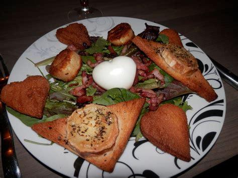 un amour de cuisine salade de chèvre chaud pr mon valentin un amour de cuisine