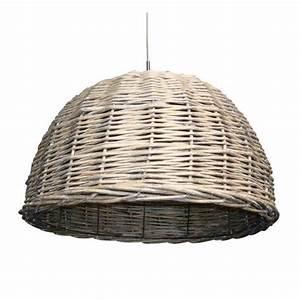 Suspension Luminaire Rotin Tresse Dune Achat Vente