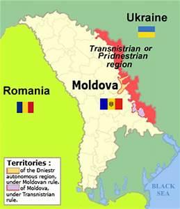 Amplasarea Transnistriei