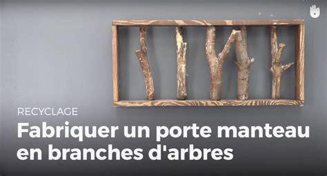 apprendre 224 fabriquer un porte manteaux en branches d arbre fabriquer des meubles avec des