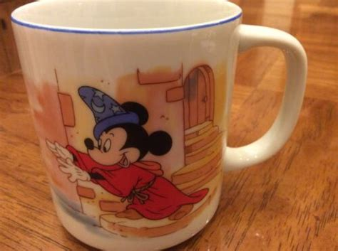 Tokyo disney resort tokyo disneyland disney coffee mugs visit japan fukuoka otaku anime japanese culture disney trips disney love. Disneyland Walt Disney World Fantasia Coffee Cup Mug ~Mickey Mouse~Japan. for Sale - JustDisney