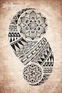 Tribal tattoos Mandalas and Maori on Pinterest