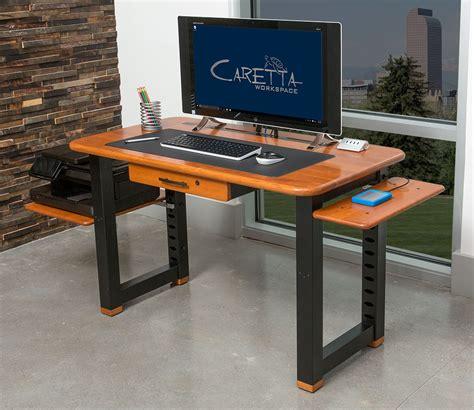 solid wood computer desk l shaped desk amazing desk with printer shelf 2017 design desktop