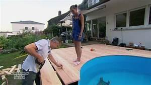 Schrauben Sägen Siegen : schrauben s gen siegen das duell video preview katja und thilo bauen terrasse mit pool ~ Yasmunasinghe.com Haus und Dekorationen
