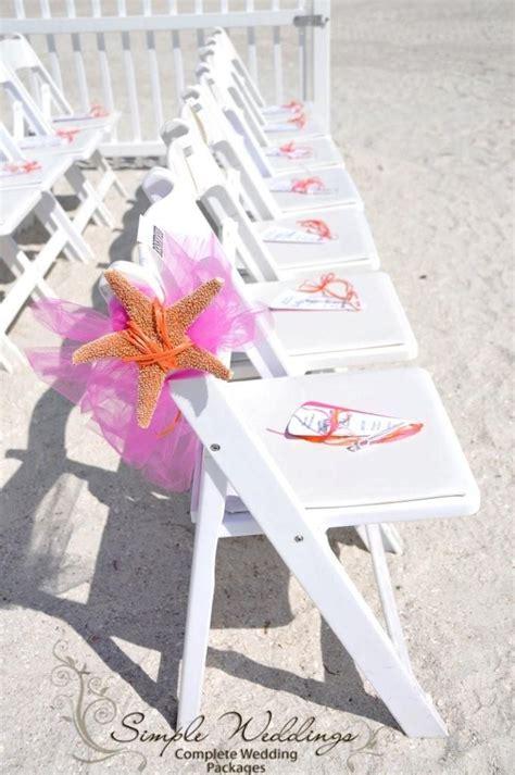 starfish florida beach wedding aisle decor by www