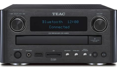small cd player for bedroom teac cr h260i stereo receiver with built in cd player and 19817