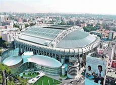 Santiago Bernabéu stadium in Madrid Curiosities in Spain