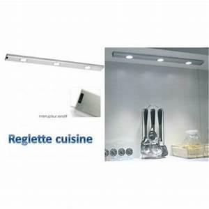 Reglette Led Sans Fil : luminaire cuisine sans fil ~ Edinachiropracticcenter.com Idées de Décoration