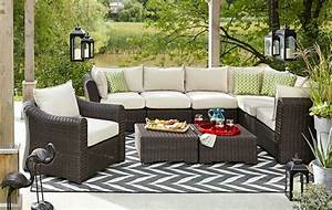 canvas salina collection sectional chairs luxe lounge With outdoor sectional sofa canadian tire