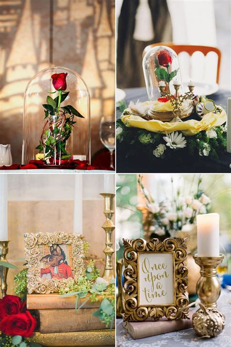 34 Magical Ideas For a Beauty and the Beast Wedding