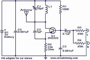 Fm Adaptor Circuit For Car Stereo