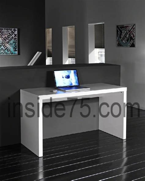 bureau design contemporain bureau design contemporain laque blanc