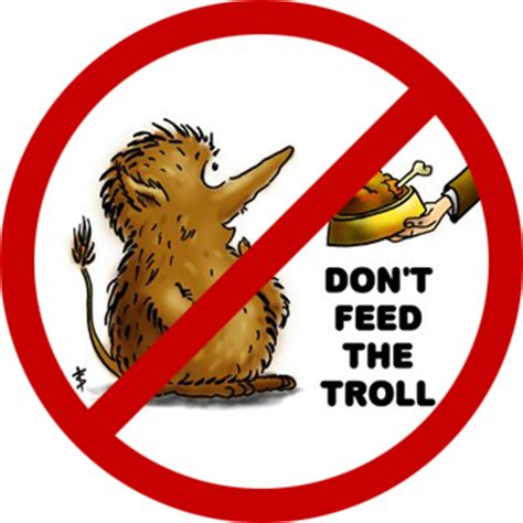 Don T Feed The Trolls Meme - don t feed the troll by blag001 on deviantart