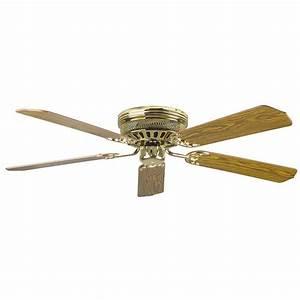Radionic hi tech palilly in polished brass ceiling fan