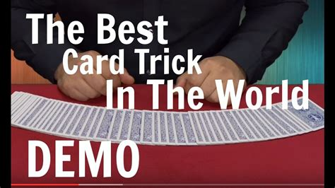 best magic in the world the best card trick in the world card magic tricks
