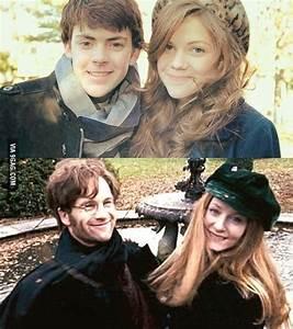 Young James & Lily Potter. - 9GAG