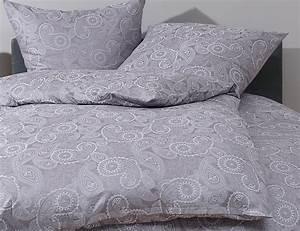 Bettwäsche 200x220 Grau : paisley bettw sche 200x220 davos grau bettwaesche mit stil ~ Markanthonyermac.com Haus und Dekorationen