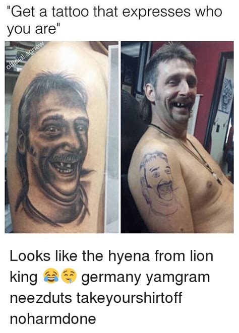 Boys With Tattoos Meme - 25 best memes about lion king lion king memes