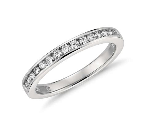 Channel Set Diamond Ring In Platinum (14 Ct Tw)  Blue Nile. Worldtime Watches. Anniversary Band Settings. Teardrop Lockets. 14k Rings. Original Engagement Rings. Hyderabad Gold Jewellery. Rose Gold Bangle. Jewellery Design Rings