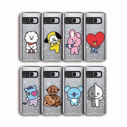 Bt21 Case Clear Kpop S8 Plus Soft