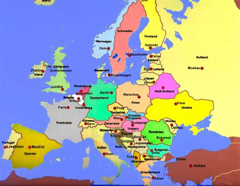 Verschiedenes zu Europa