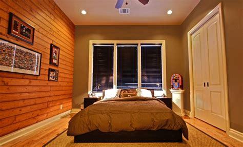 kamar tidur maskulin modern  kontemporer rancangan