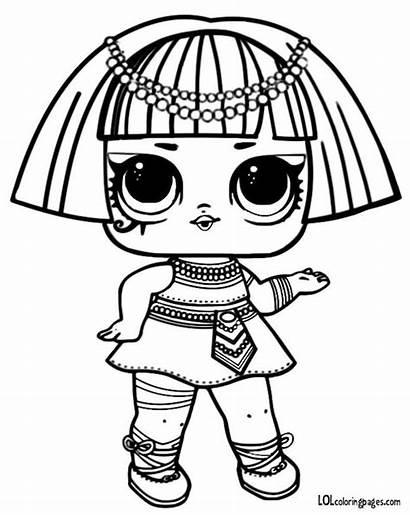 Coloring Surprise Doll Lol Dolls Pharaoh