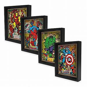 marvel heroes 3d lenticular wall art collection bed bath With marvel wall art