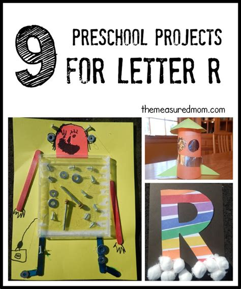 letter r crafts the measured 933 | letter R crafts the measured mom