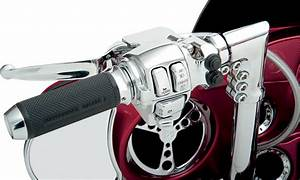 Legends Chrome Motorcycle Handlebar Air Suspension Control