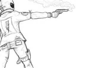 My Chemical Romance Killjoy Drawing