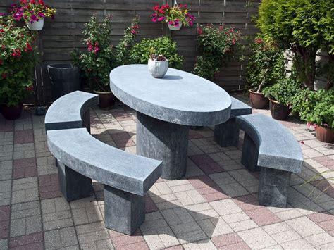 Salon de jardin en pierre - Ooreka
