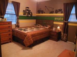 john deere bedroom tractors little boy bedrooms my