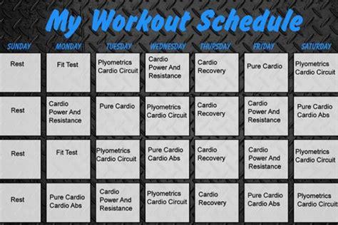 insanity workout printable calendar insanity workout