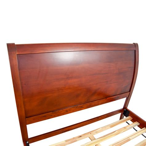 70 off sleepy s sleepy s queen wooden bed frame beds