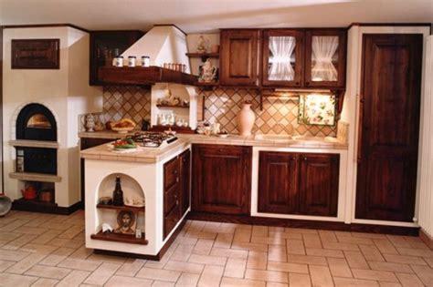 cucina  finta muratura  legno  massello arluno