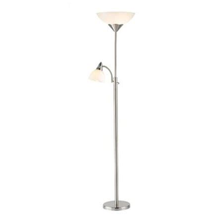Walmart Reading Light by Piedmont Torchiere Floor L With Reading Light In Steel