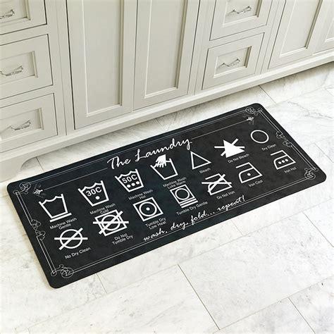 laundry room rug laundry comfort mat ballard designs