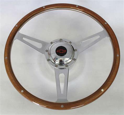 chevy pick  blazer  hole retro wood steering wheel