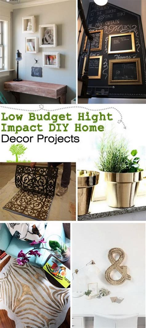 Diy Home Decor Blogs - 20 cheap but amazing diy home decor projects