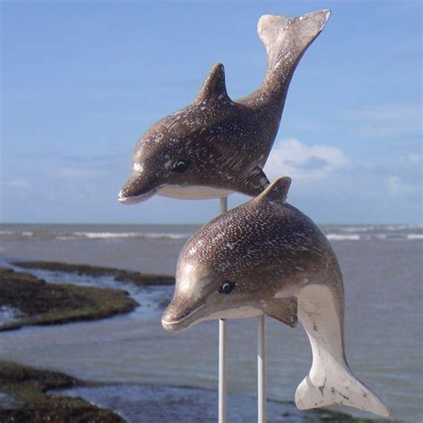 dolphin carving wood carving wooden dolphin