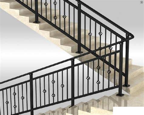 Wrought Iron Stair Railing,handrail Prefabricated