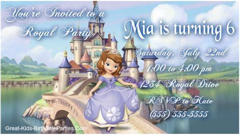 sofia   invitations