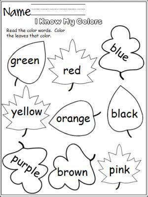 printable learning colors worksheets learning