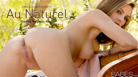 nude pics of kennedy nash in au naturel