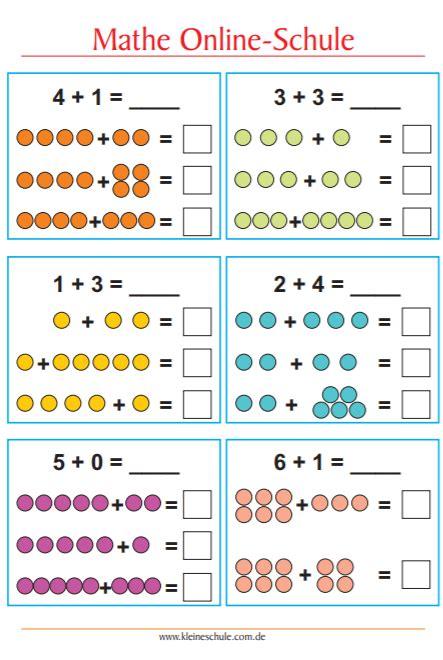 Kleines bingo plusaufgaben klasse 1. Matheaufgaben für 1. Klasse Grundschule 2019 - Tipss und Vorlagen